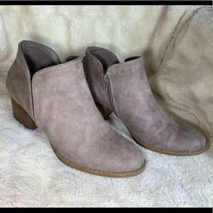 """FERGIE """"Bianca"""" Tan Ankle Boots"""